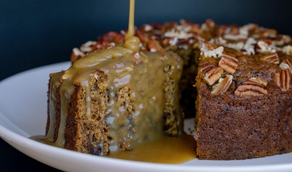 recipe image Sticky date cake with butterscotch sauce