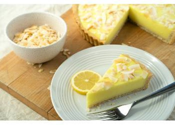 recipe image Tangy Lemon and Coconut Tart